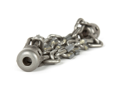 4-inch Picote Original Grinding Chain for 1/3-inch Shaft