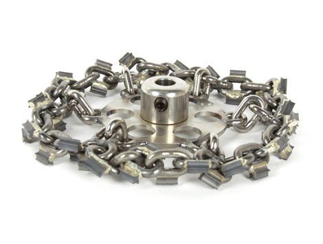 """8"""" (8-inch) Picote Cyclone Chain for Maxi Millers (1/2"""" Shaft)"""