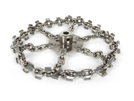 """10"""" (10-inch) Picote Cyclone Chain for Maxi Millers (1/2"""" Shaft)"""