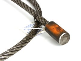 3/4-inch Pulling Cable, Swaged