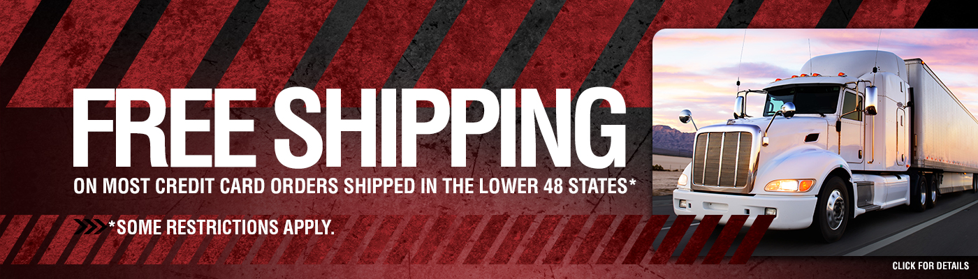 Free Shipping on HammerHead Shop Web Orders