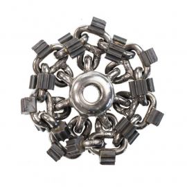 """3"""" (3-inch) Picote Premium Cyclone Chain for Mini Miller and Micro Millers 1/3"""" Shaft"""