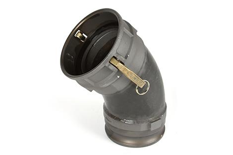 CIPP inversion drum nozzle adapter 45-degree 922-4916